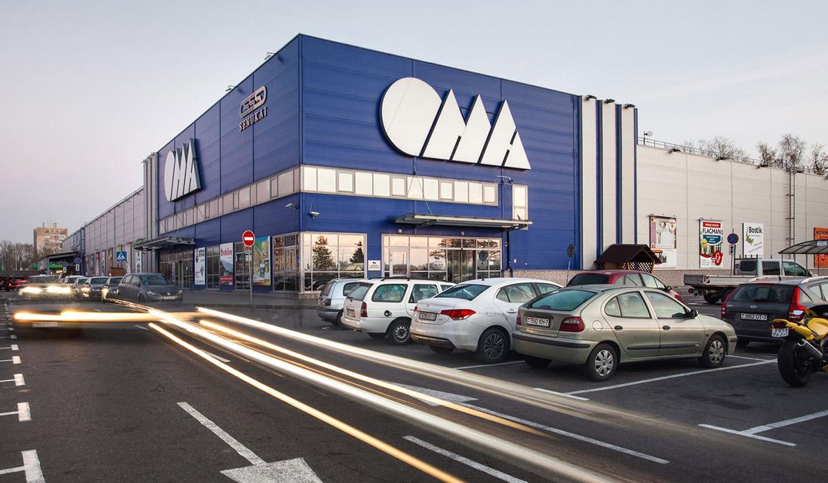 Строительный магазин Ома в Беларуси